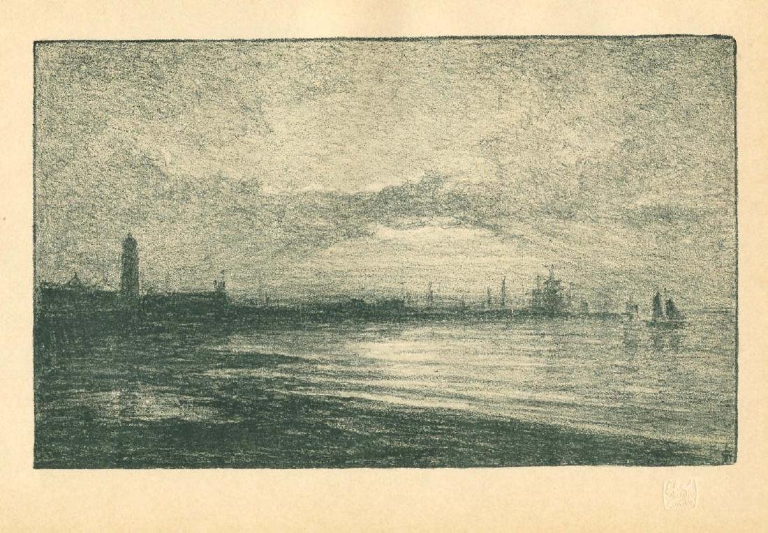 Charles Storm van Gravesande original lithograph