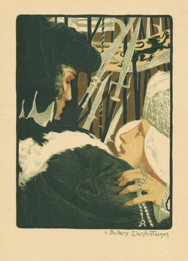 Henri Bellery-Desfontaines original lithograph