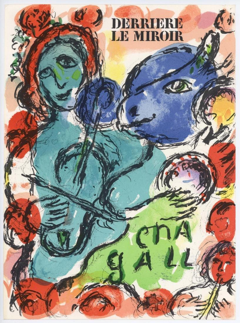 Marc Chagall original lithograph, 1972