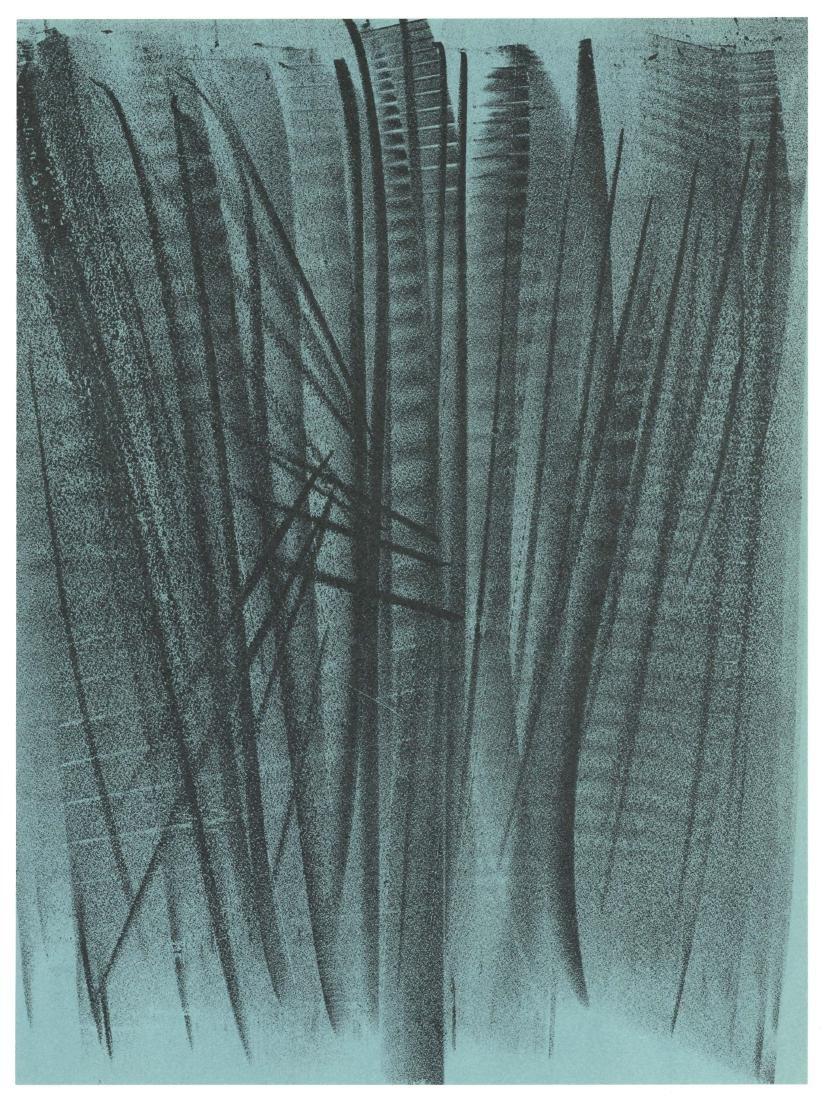 Hans Hartung original lithograph, 1964