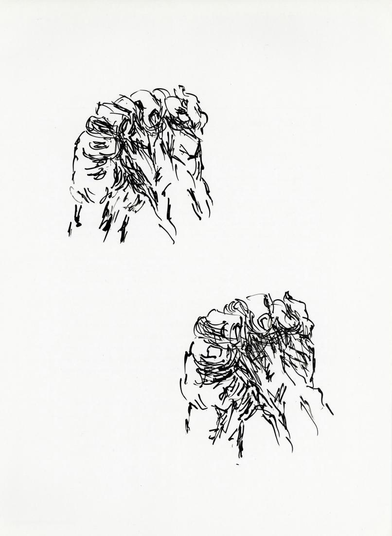 Jean Bazaine original lithograph, 1982