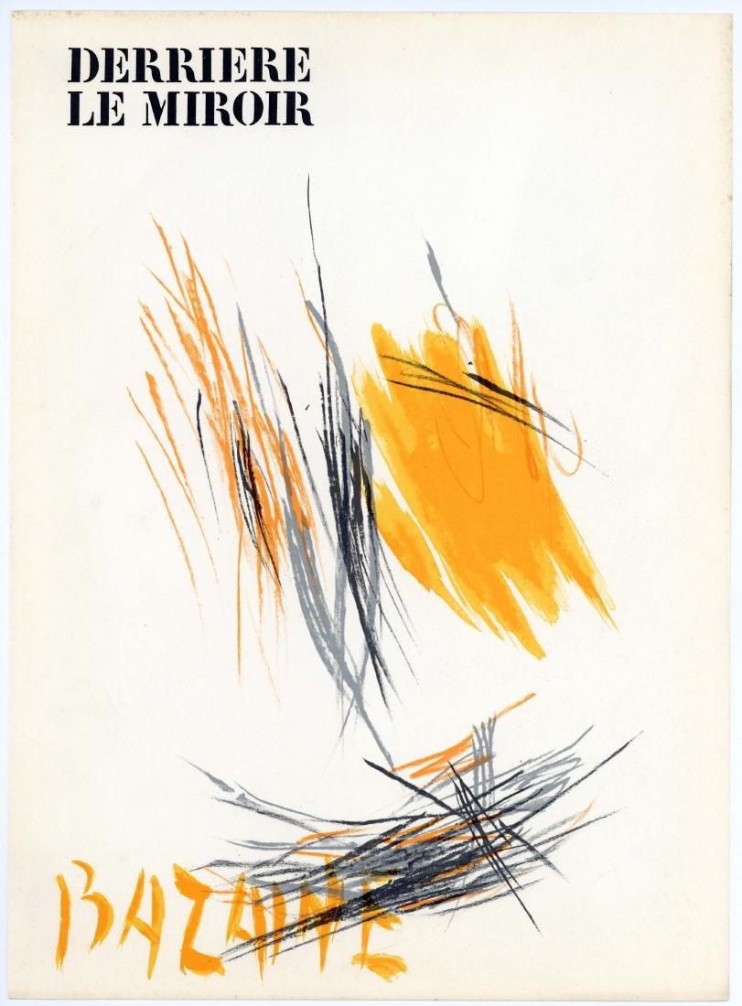 Jean Bazaine original lithograph, 1972