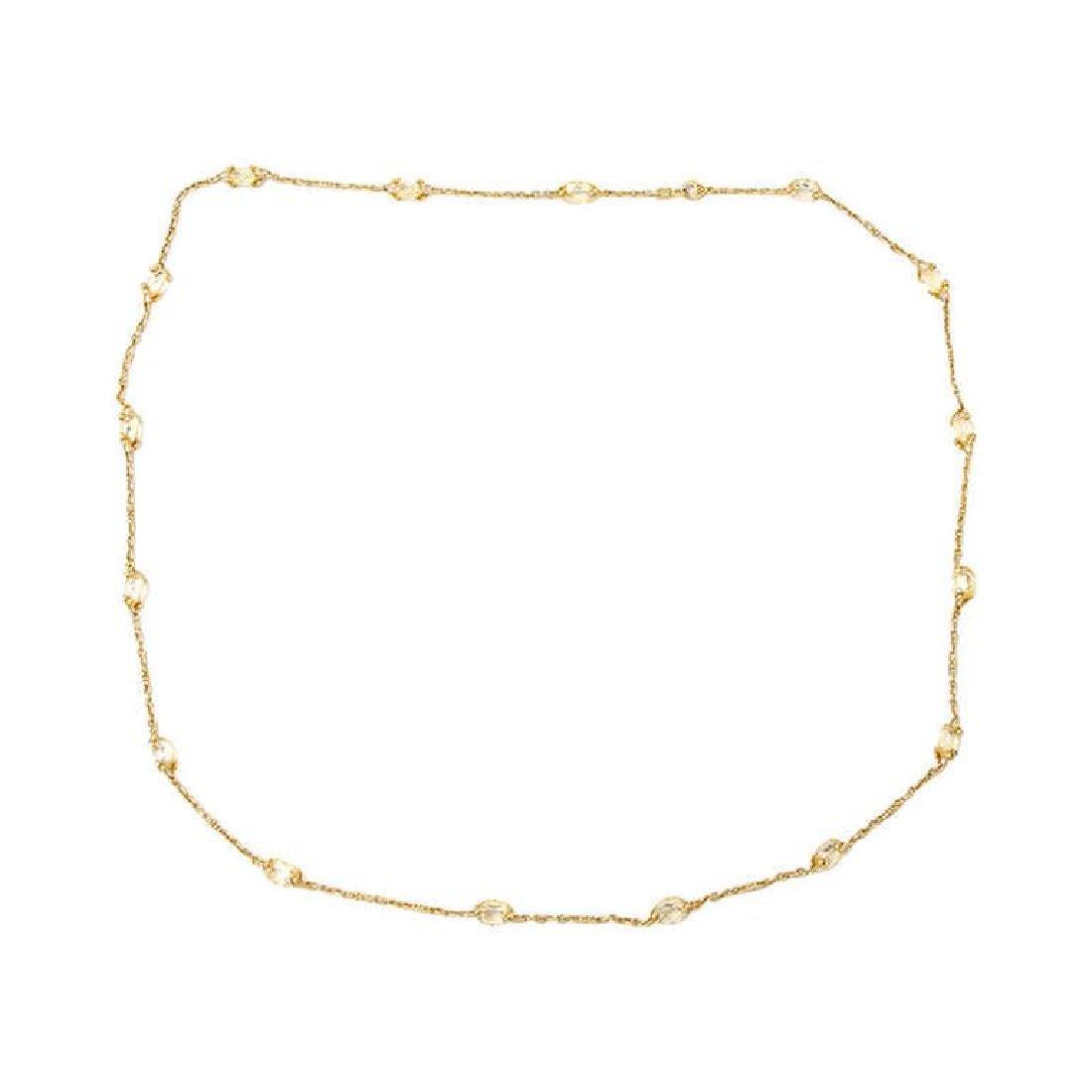 Judith Ripka Yellow Crystal-Glass And Diamond...