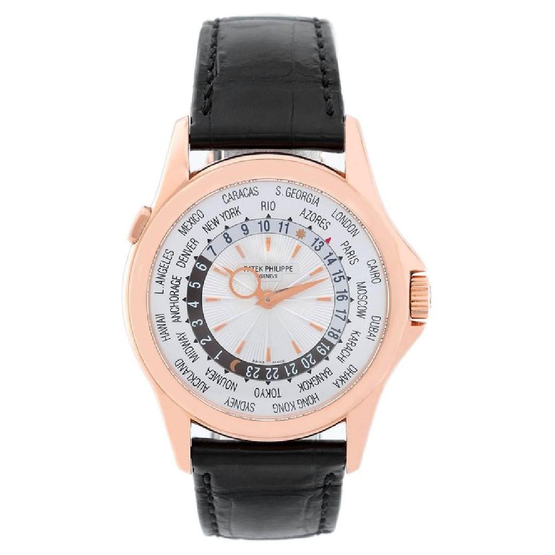 Patek Philippe Rose Gold World Time Automatic