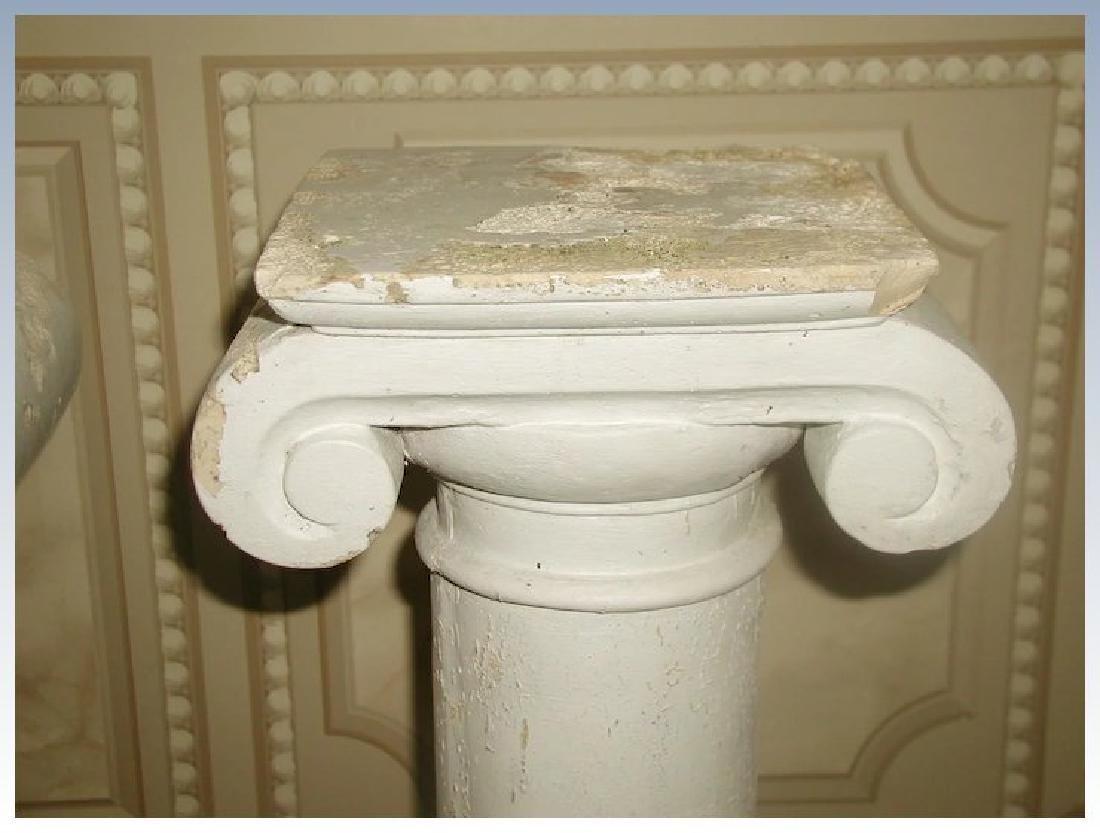 Plaster Columns Table Base Architectural - 2