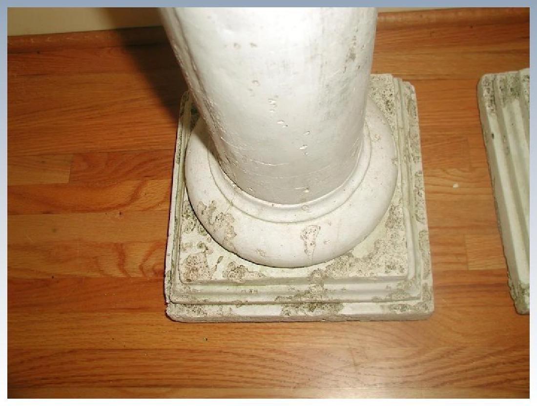 Plaster Columns Table Base Architectural - 6