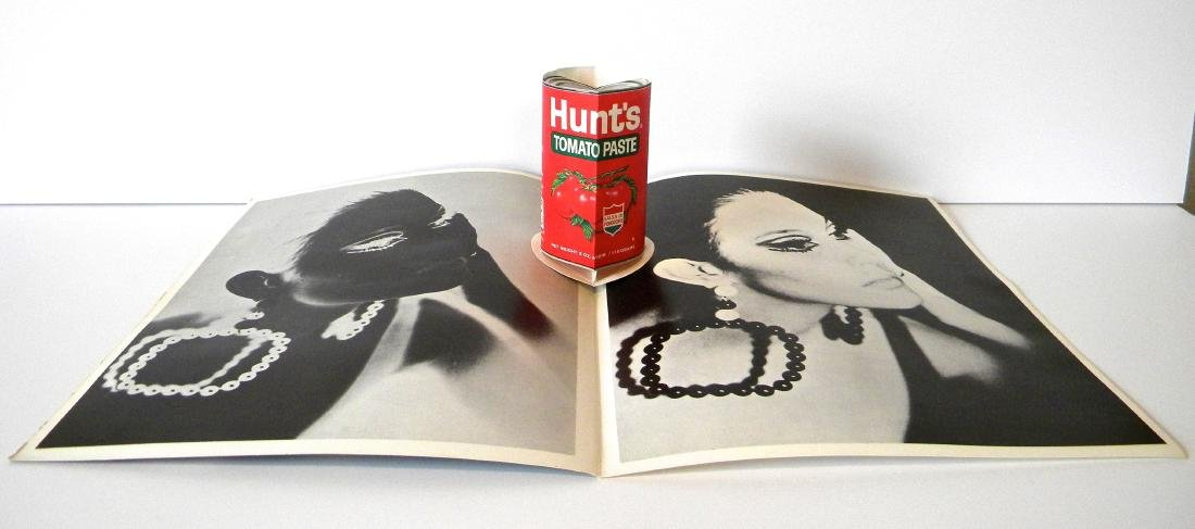 """Andy Warhol lithograph multiple """"Hunts Tomato Paste"""""""