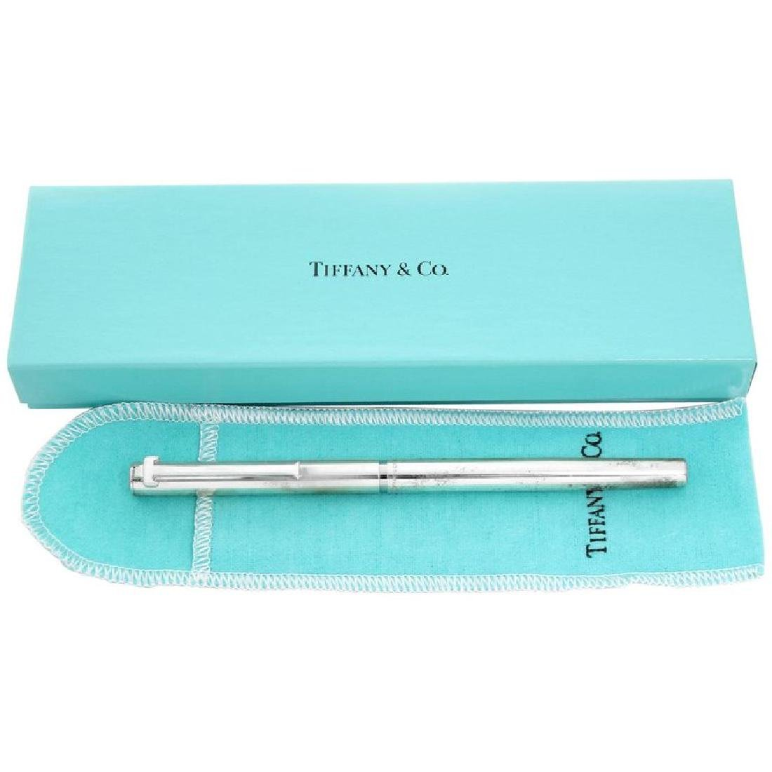Vintage Tiffany & Co. Sterling Silver T-Clip Pen