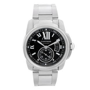 Cartier Calibre de Cartier Men's Stainless Steel Watch