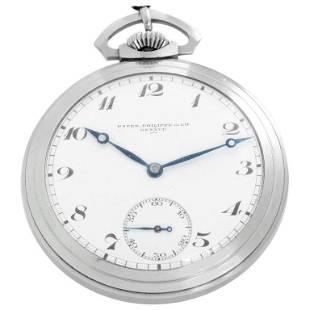 Patek Philippe & Co. Open Face Pocket Watch