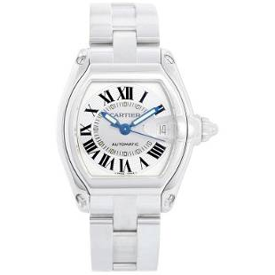 Cartier Automatic Stainless Steel Roadster Men's Watch