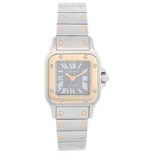 Cartier Santos Ladies Steel & Gold 2-Tone Automatic