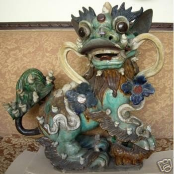 15: Original Amazing Chinese Lion Dogs of Fo, 18th Cent