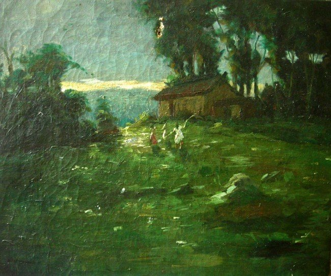 8: Cecil Gordon Lawson Oil Painting Original Art Hous