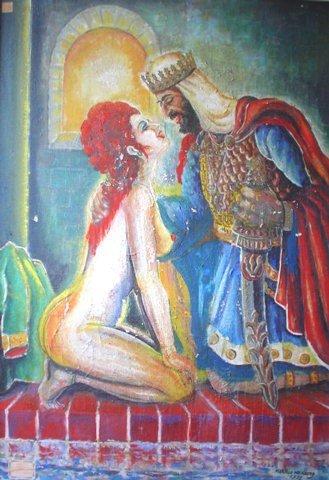 20: Original Art Marcelo Weinberg Oil on Canvas Paintin
