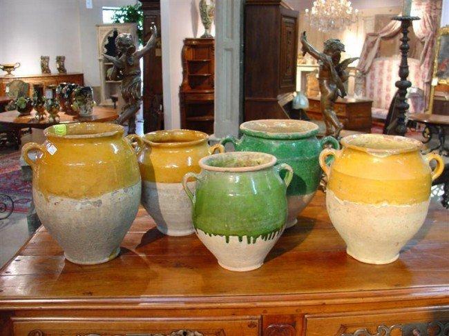315: Antique French Confit Pot