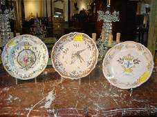 Antique Faience Plates