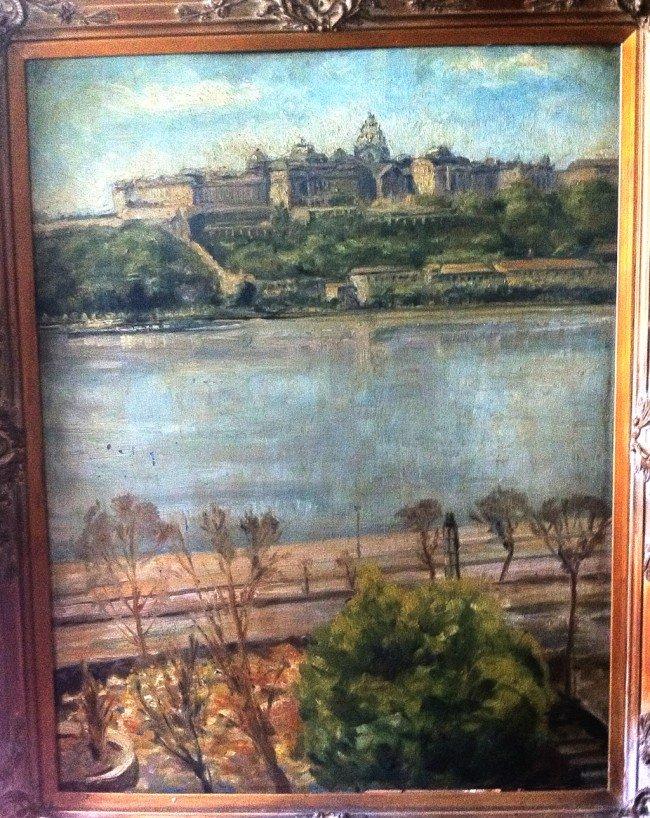 5: Maximilien Luce Oil Painting Original Art Landscape