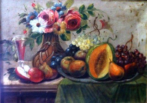 7: Mark Gertler Oil Painting Original Art Still Life