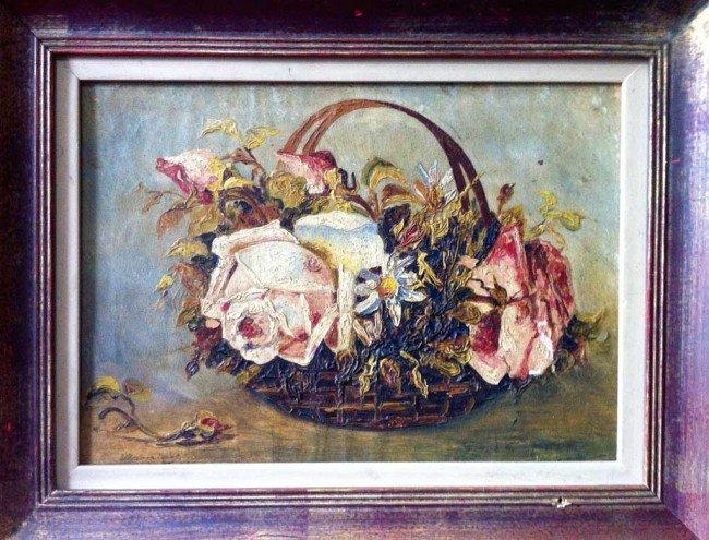 8: Maurice De Vlaminck Oil Painting Original Art Floral