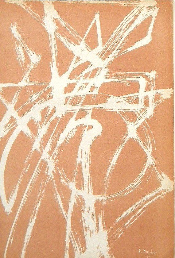 196: Enrico Bordoni original lithograph | Arte Concreta