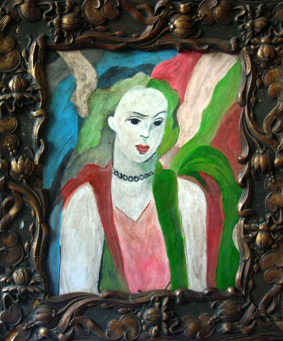 Marie Laurencin Oil Painting Original Art Woman