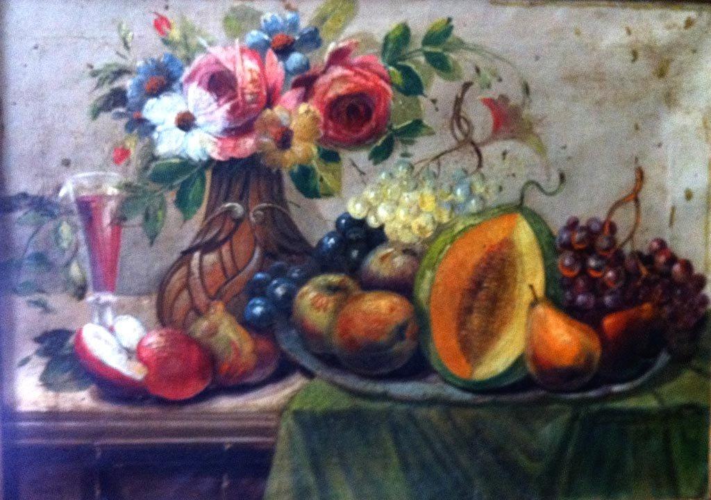 Mark Gertler Oil Painting Original Art Still Life