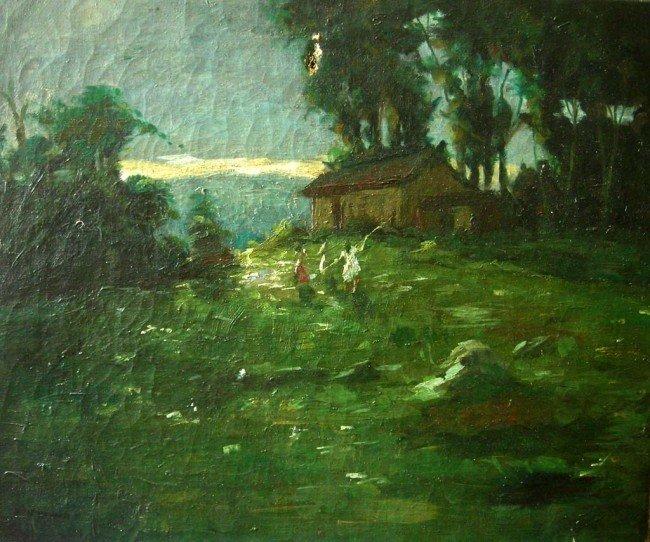 Cecil Gordon Lawson Oil Painting Original Art Hous