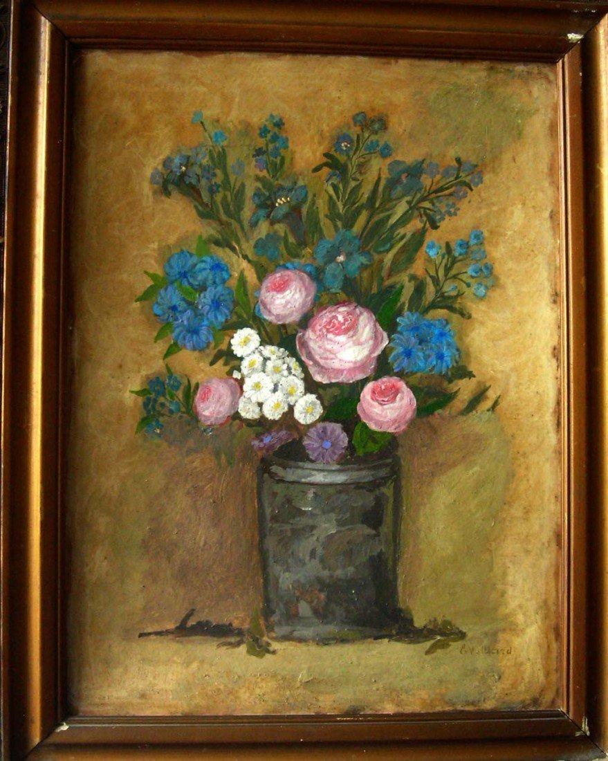 Edouard Vuillard Oil Painting Original Art Floral