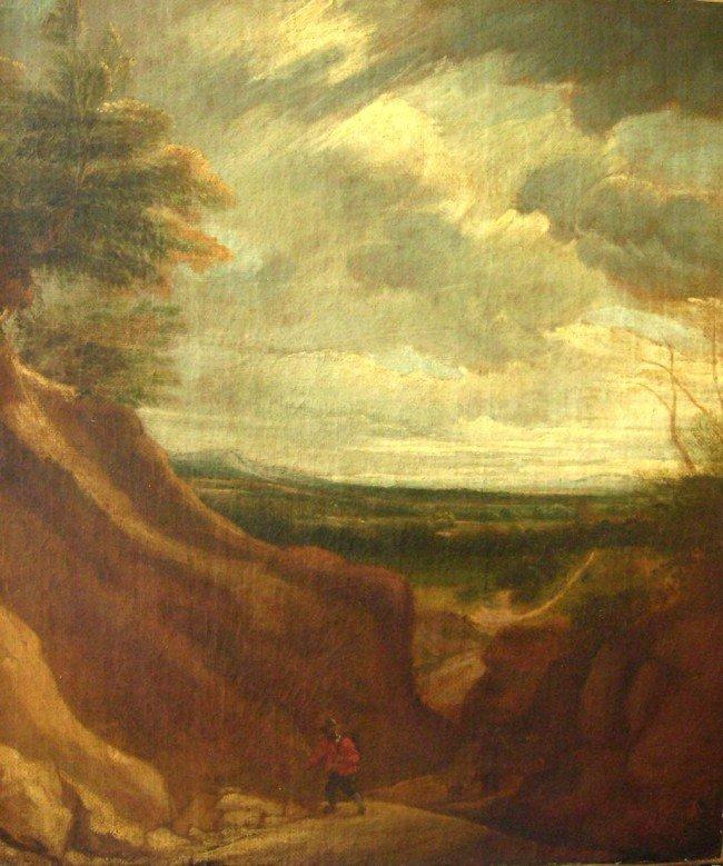 Eugene Delacroix Oil Painting Original Art Landsca