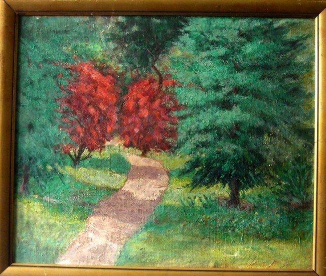 Roderic O' Conor Oil Painting Original Art Landscape