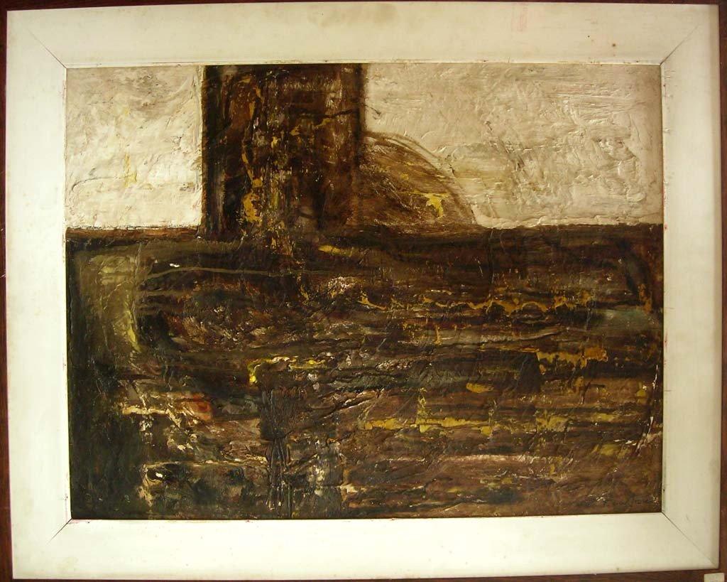 Jean Fautrier Oil Painting Canvas Original Art, Abstrac