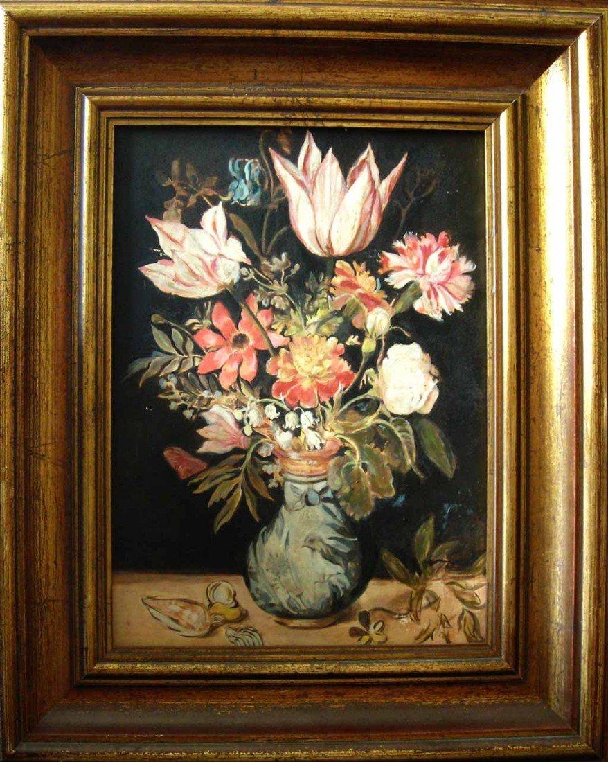 Thomas Hart Benton Oil Painting Original Art Still Life