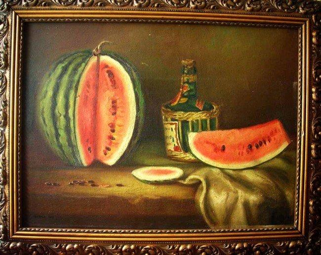 Tarsila do Amaral Oil Painting Original Art, Still Life