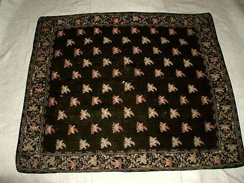 Italian Tapestry Throw C.1875 Hand Crafted Wool Beautif
