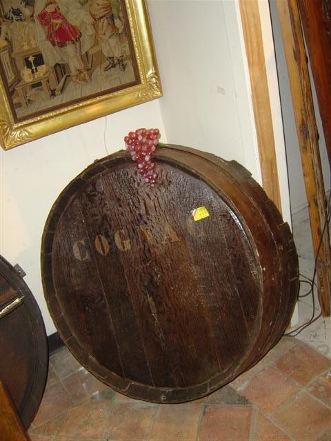 Barrel Front-Cognac