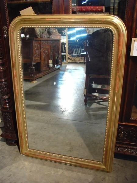 Antique Giltwood Louis Philippe Mirror