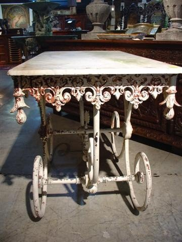 Antique Pastry Table from France - 3