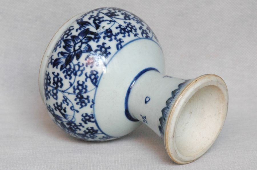 Chinese Qing Blue and White Porcelain Cup Kangxi , 17C - 7