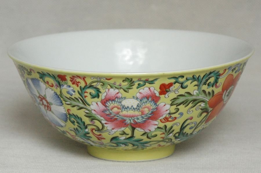 Masterpiece Chinese Qing Porcelain Bowl Daoguang Mark &