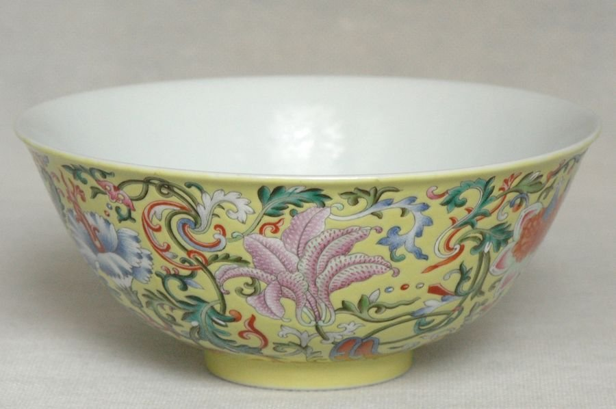 Masterpiece Chinese Qing Porcelain Bowl Daoguang Mark & - 3
