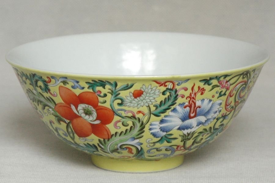 Masterpiece Chinese Qing Porcelain Bowl Daoguang Mark & - 4