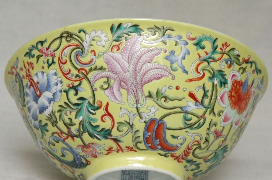 Masterpiece Chinese Qing Porcelain Bowl Daoguang Mark & - 6