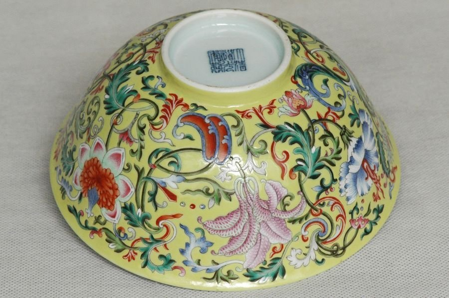 Masterpiece Chinese Qing Porcelain Bowl Daoguang Mark & - 7
