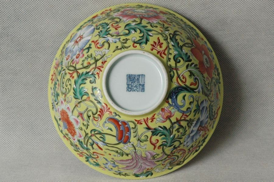 Masterpiece Chinese Qing Porcelain Bowl Daoguang Mark & - 8