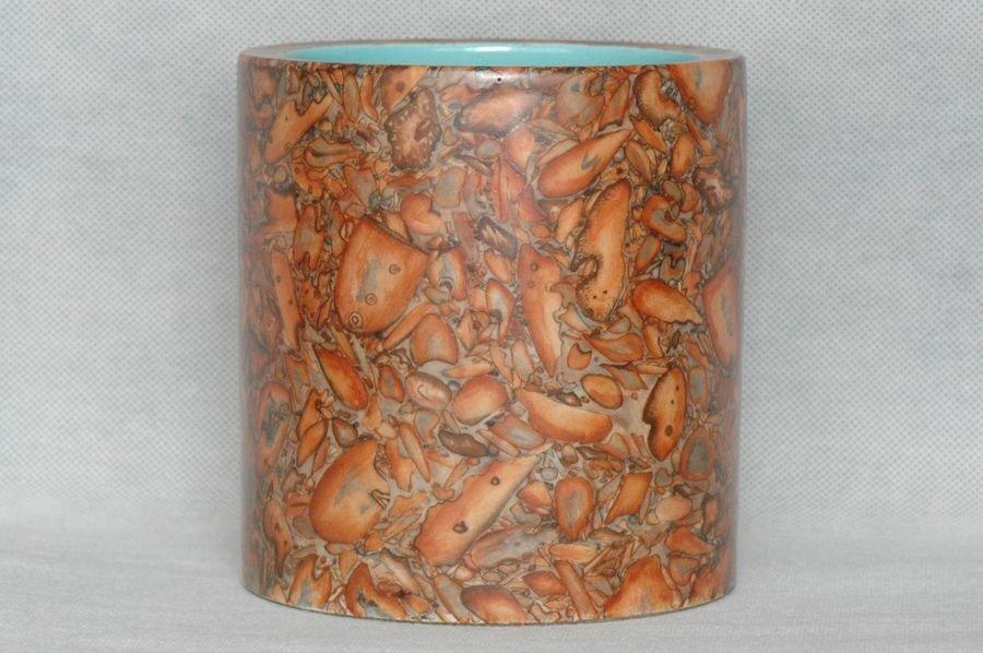 Masterpiece Chinese Qing Porcelain Brush Pot Qianlong M