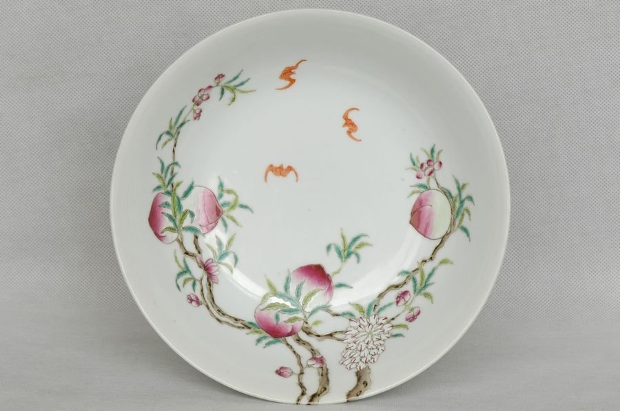 Chinese Peach Bowl Guangxu Mark and Period