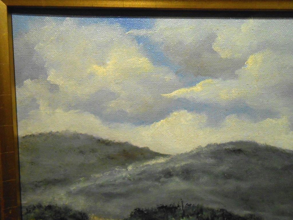Arkansas Bluebonnet Landscape Oil Painting - 5