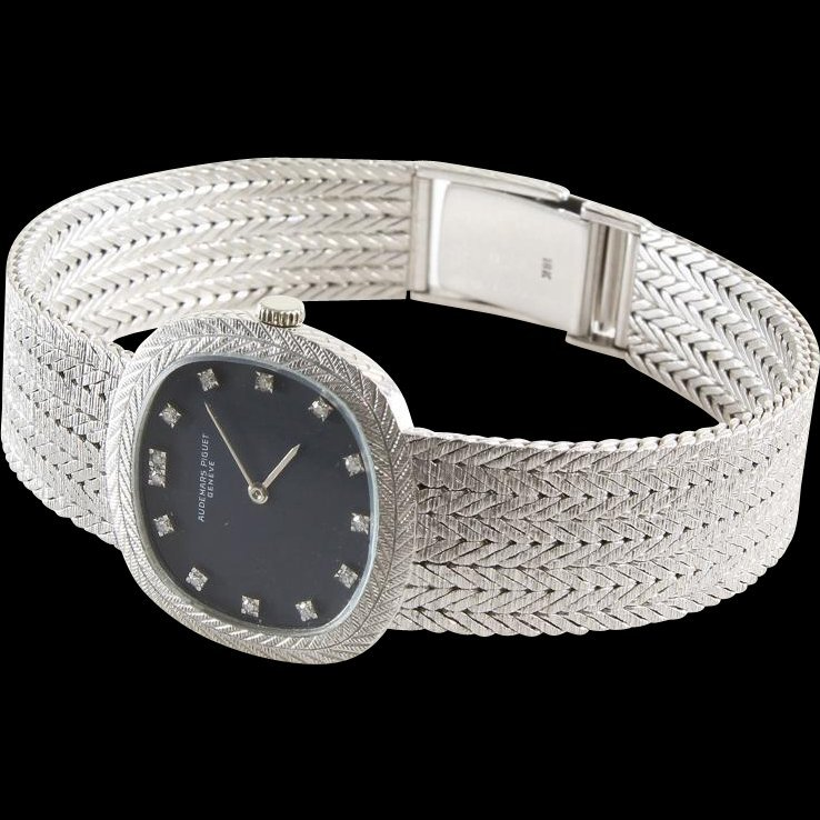 Audemars Piguet Ladies Watch | 18K White Gold Diamond |