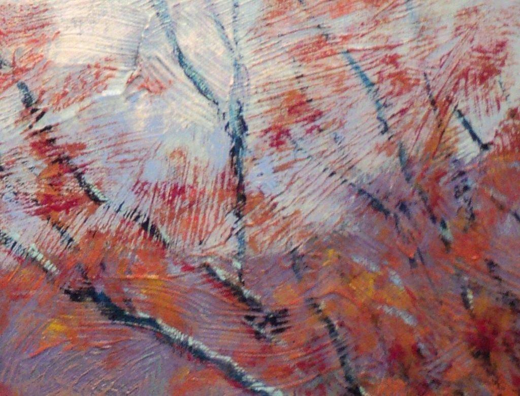 Contemporary Impressionist Snow Scene - 4